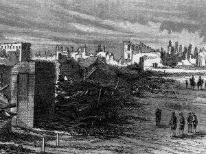 Atlanta in ruins. Courtesy of the Georgia Historical Society