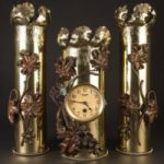 decorated artillary shells from swords to plowshares exhibit