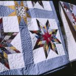"Quiltmaker Hazel Fulton creates her own designs and assigns them names like ""From Georgia to Arizona,"" ""Grandmother's Dream,"" and ""Delectable Mountain."" Courtesy of Georgia Council for the Arts"