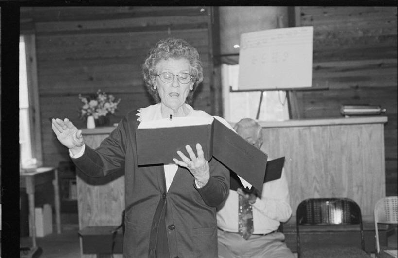 Sacred Harp Singer