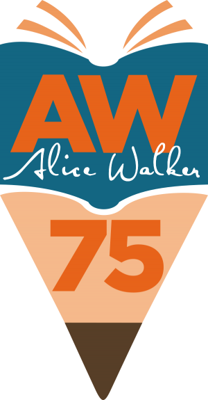 Alice Walker 75 logo