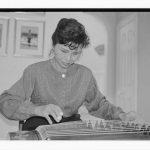 Angela Chen plays the guzheng