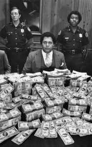 Maynard Jackson and two City of Atlanta police officers