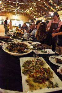 Image of the White Oak Pastures farm restaurant.