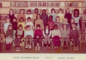 Clemmie Blacks class in 1974 at Lyerly Elementary School