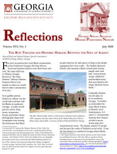 The July 2020 edition of the Reflections newsletter.