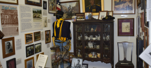 Exhibit featured at the Jack Hadley Museum of Black History in Thomasville, Georgia.