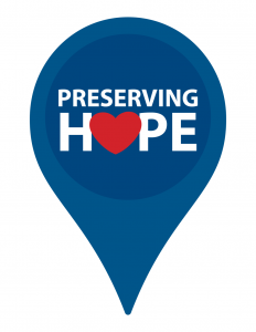 Preserving Hope campaign sign