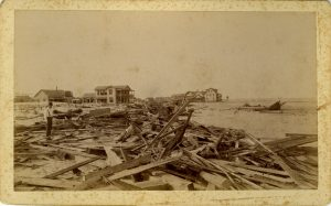 Destruction left in the wake of the 1893 Sea Islands Hurricane