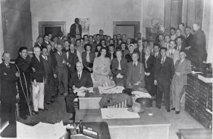 The Augusta Chronicle staff in 1948