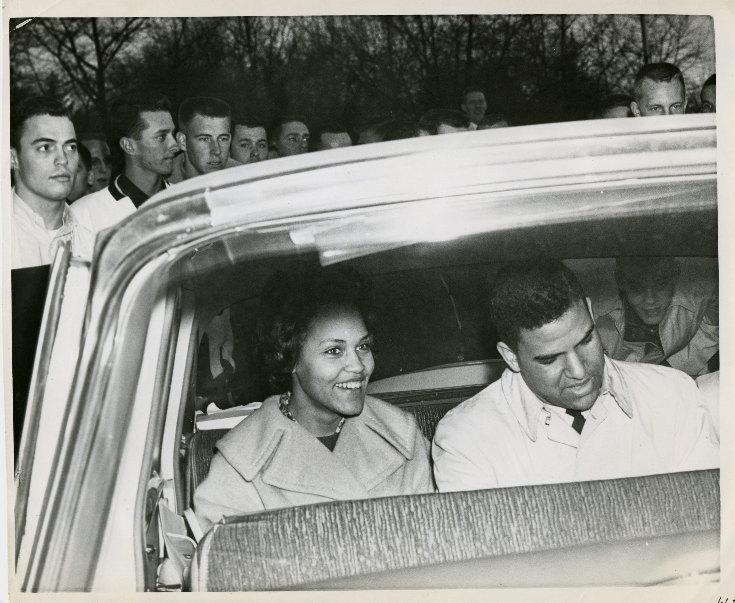 Charlayne Hunter Gault and Hamilton Holmes