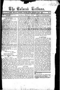 Savannah Tribune, March 25, 1876.