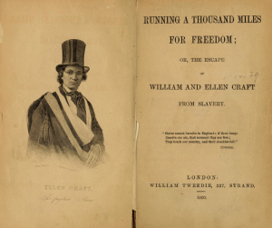 """The book, """"Running a Thousand Miles for Freedom."""""""