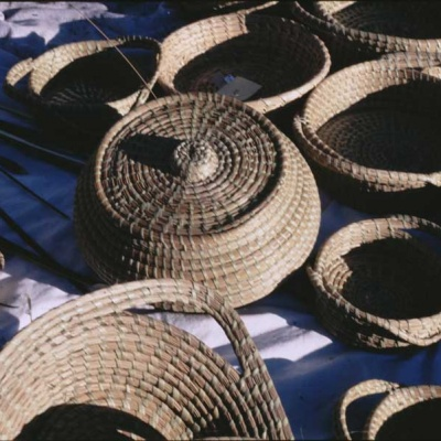 Woven Sweetgrass Baskets
